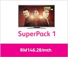 Astro IPTV Superpack 1 Time Fibre