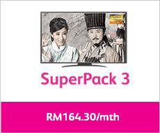 Astro IPTV Superpack 3 Time Fibre
