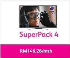 Astro IPTV Superpack 4 Time Fibre