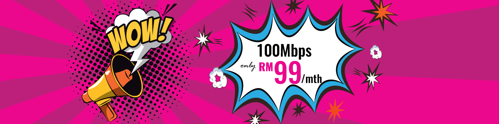 Time fibre home latest promotion RM99