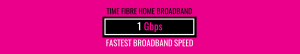 Time fibre home broadband 1 gbps