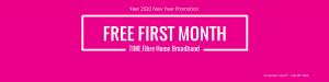 time fibre promotion