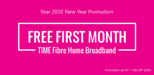 time fibre promotion jan2020
