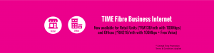 TIME Business broadband Promotion